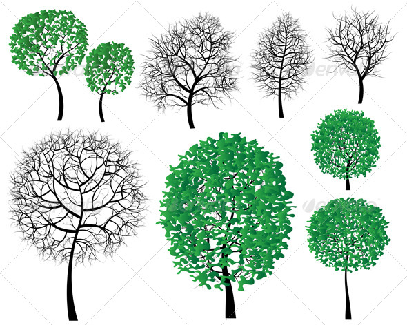 GraphicRiver Trees 4913927