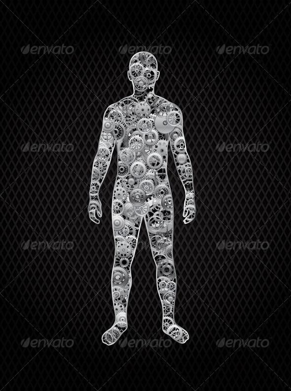 GraphicRiver Human 4913931