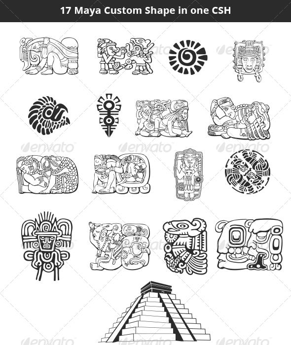 GraphicRiver Maya Custom Shapes Set 4796025