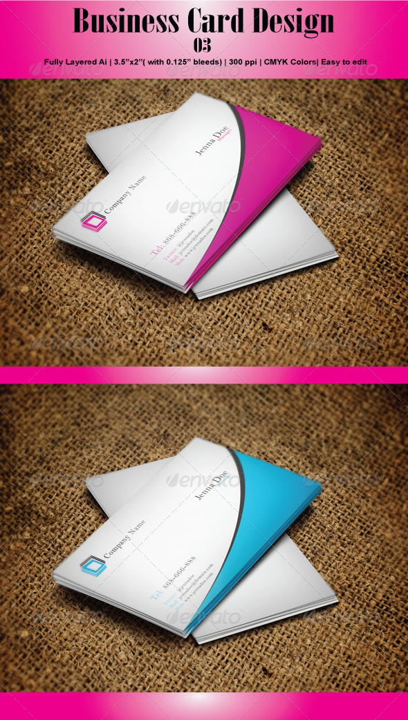 GraphicRiver Business Card 03 4592057