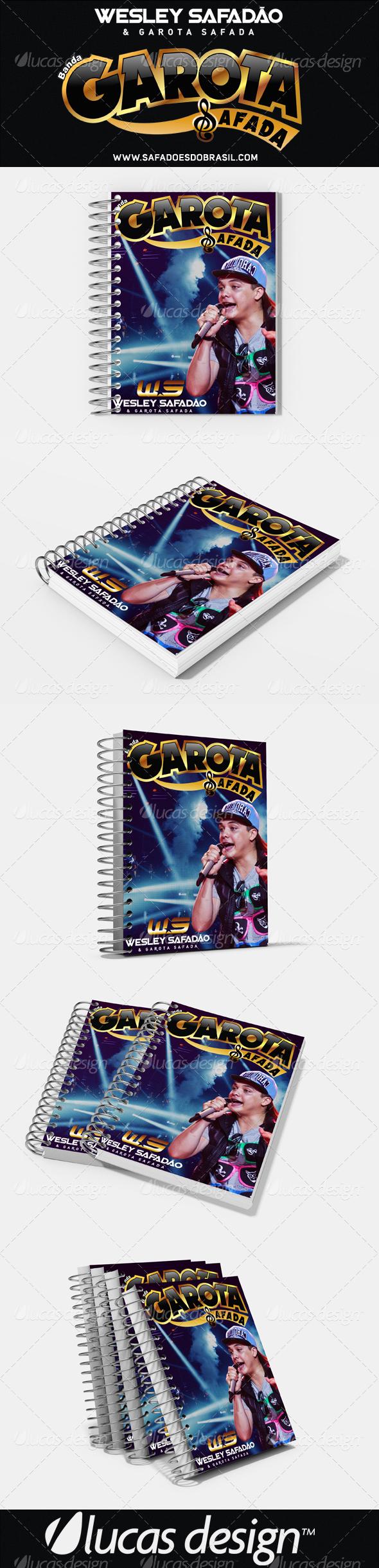 NoteBook Wesly Safadão & Garota Safada - @LuccaAlexandre