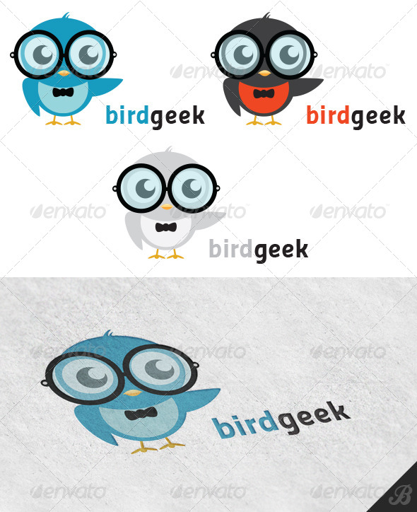 GraphicRiver Bird Geek 4914978