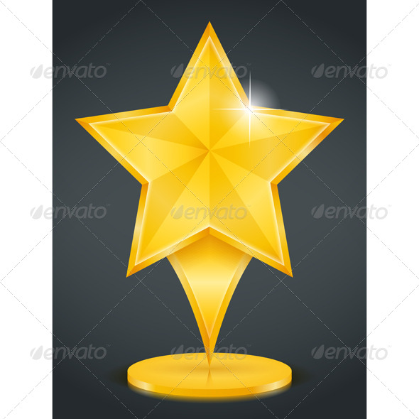 GraphicRiver Golden Star 4915295