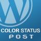 Color Status Post for WordPress (Utilities) Download
