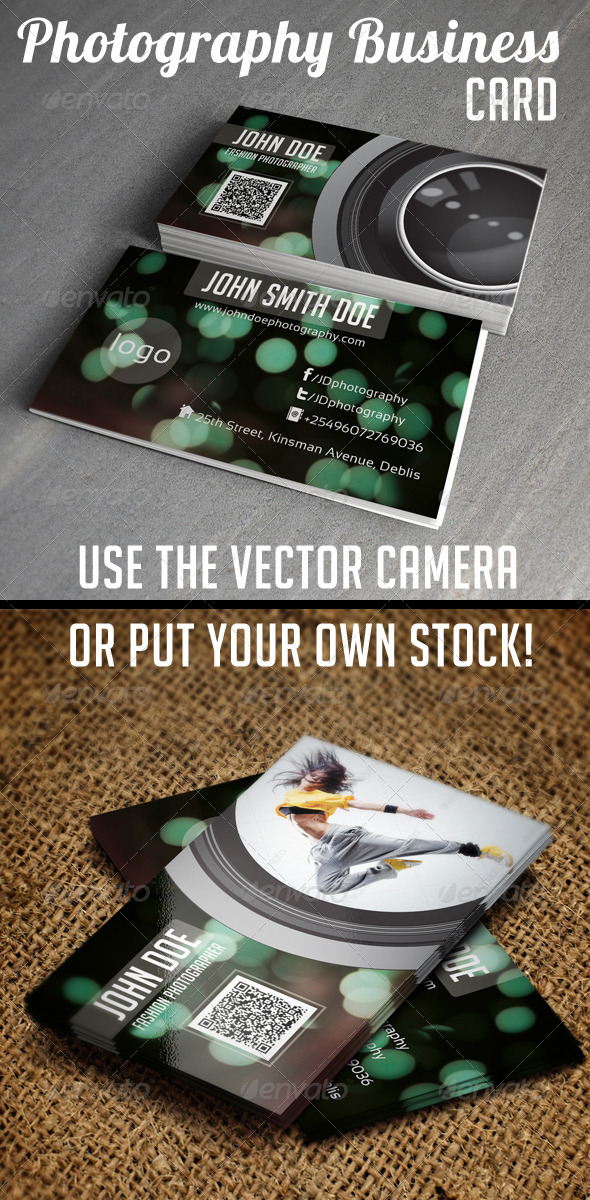 Photography Business Card V2 - Creative Business Cards