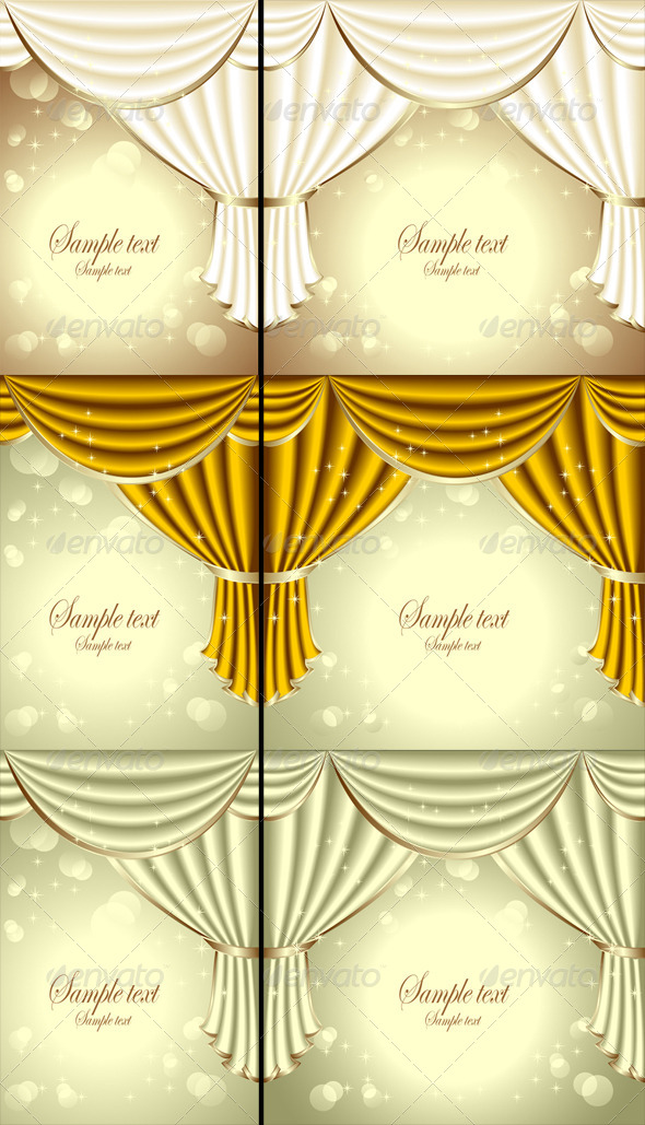GraphicRiver Background with Drapes 4915594