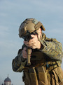 Airsoft player with sky background - PhotoDune Item for Sale