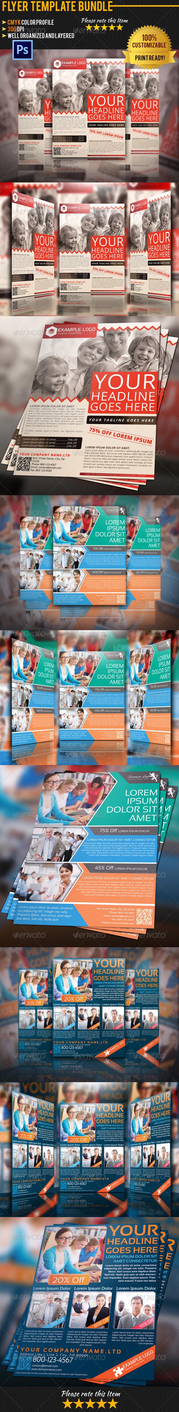 GraphicRiver Multipurpose Business Flyer Bundle 01 4916817