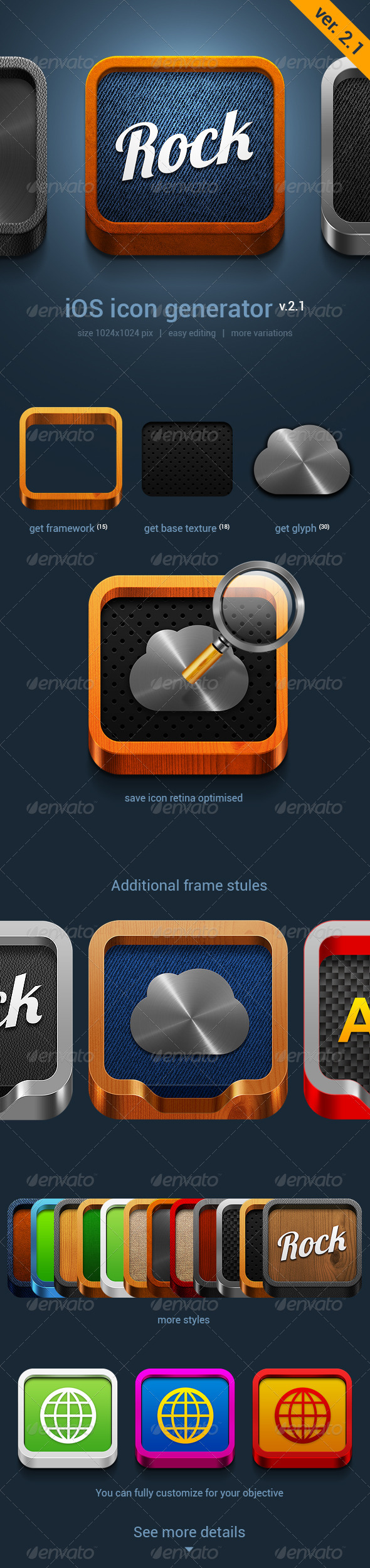 GraphicRiver iOS Icon Generator V.2.1 4917119