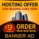 Hosting Offer Banner Ad Template - GraphicRiver Item for Sale