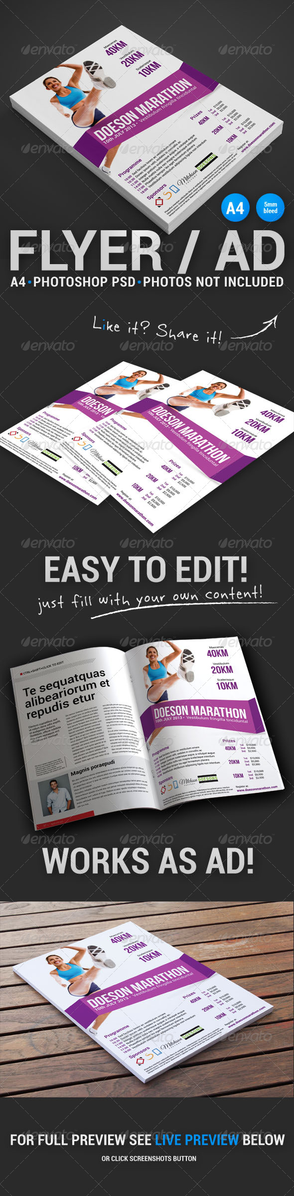 GraphicRiver Commerce Flyer 6 4918407