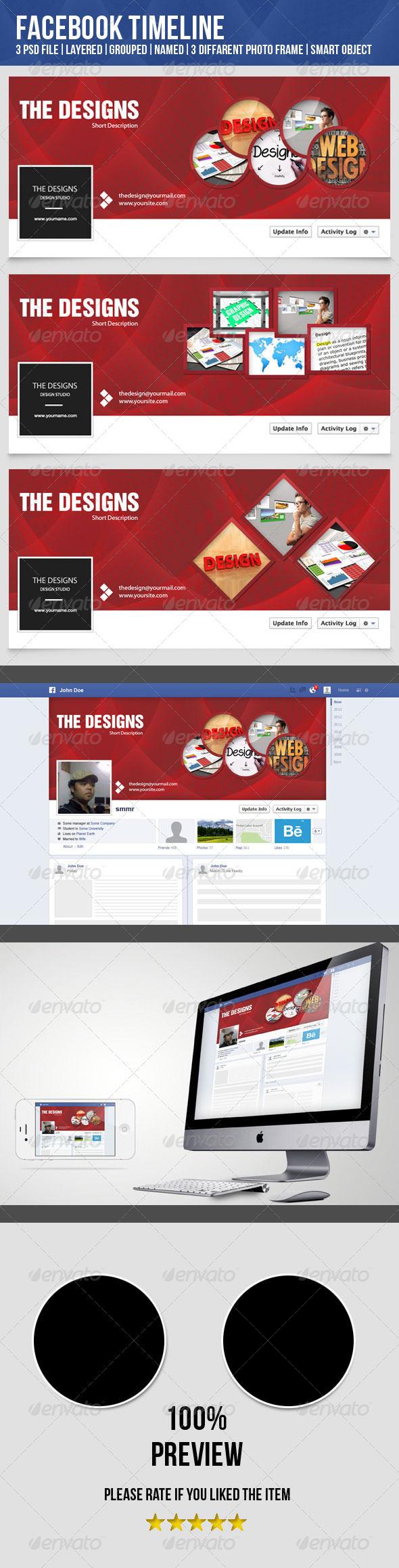 GraphicRiver Facebook Timeline-Design Studio 4918556