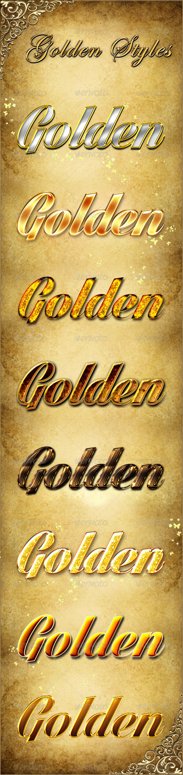 GraphicRiver Golden Styles 4918616