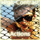3 Highcontrast Photoshop Actions
