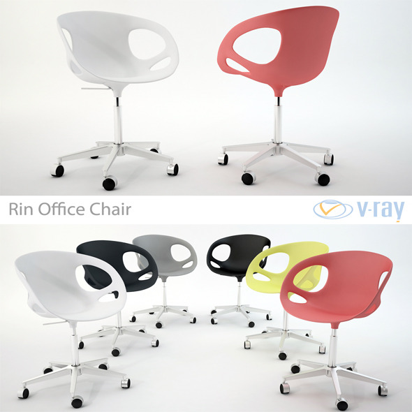 RIN Office Chair HK15 - 3DOcean Item for Sale