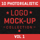 Photorealistic Logo Mock-Up Collection Vol1 - GraphicRiver Item for Sale