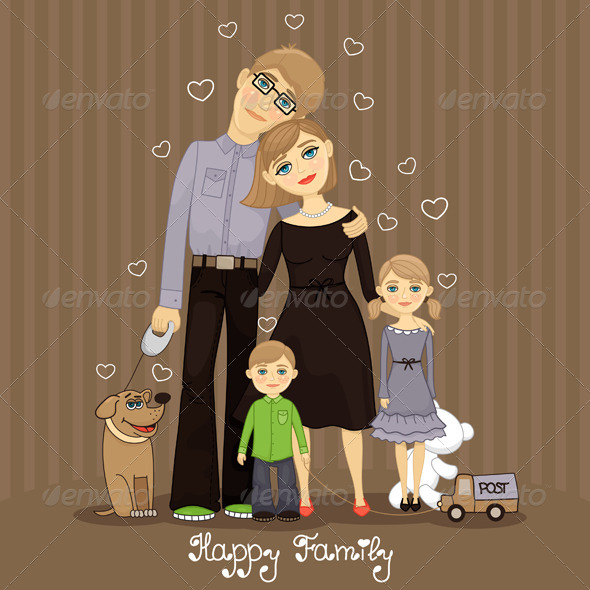 GraphicRiver Family 4919514