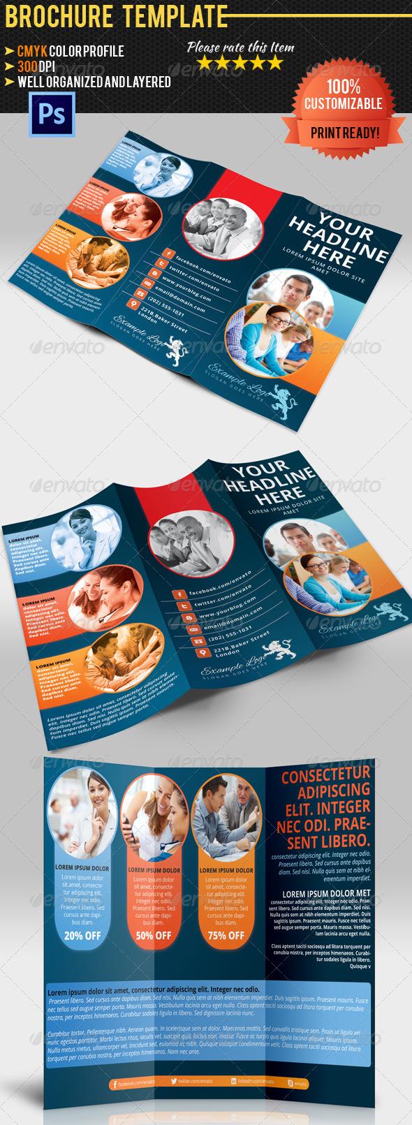GraphicRiver Multipurpose Tri-Fold Brochure Vol.3 4919760