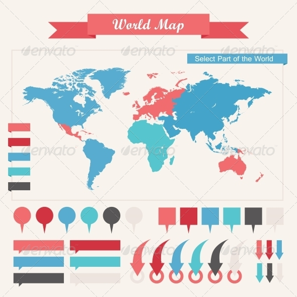 GraphicRiver Infographic Elements 4921129