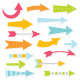 Colorful Arrows Set - GraphicRiver Item for Sale