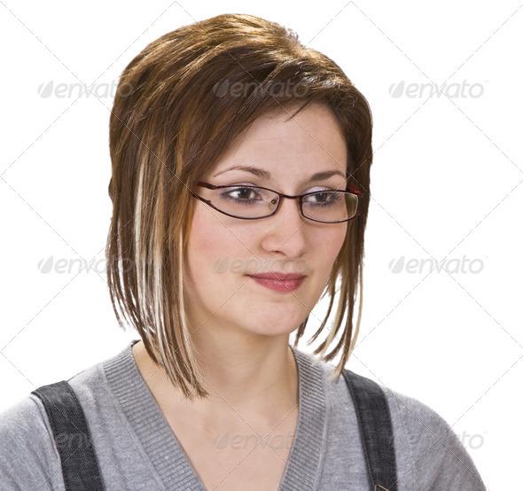 Portrait of a Woman  - Stock Photo - Images