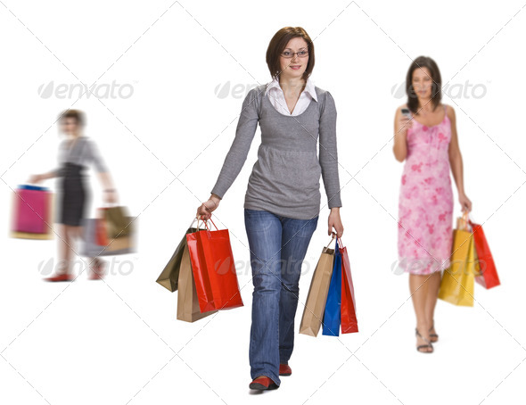 Active Shopping - Stock Photo - Images