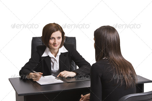 Business Interview  - Stock Photo - Images