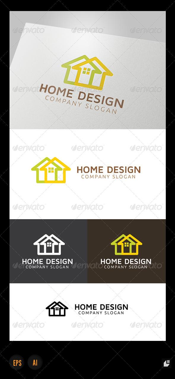 GraphicRiver Home Design Logo 4921524