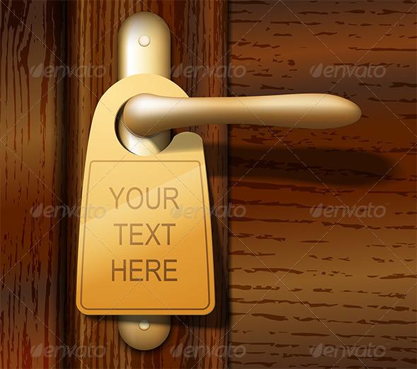 GraphicRiver Door Hanger 4921665