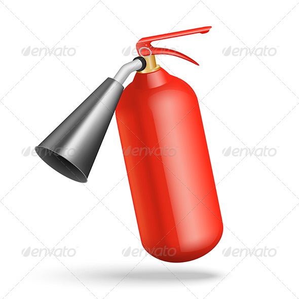 GraphicRiver Fire Extinguisher 4921676