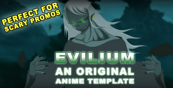 After Effects Project - VideoHive EVILIUM Original Anime Template 508928