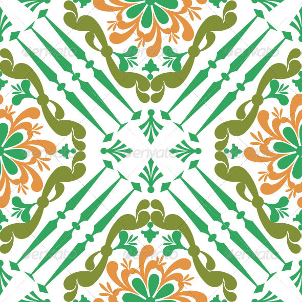 GraphicRiver Pattern Classic Vector 04 4922632