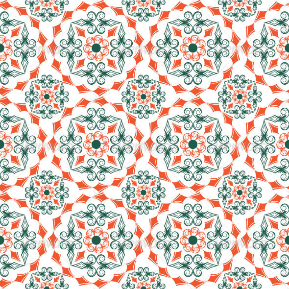 GraphicRiver Seamless Classic Pattern 06 4922718