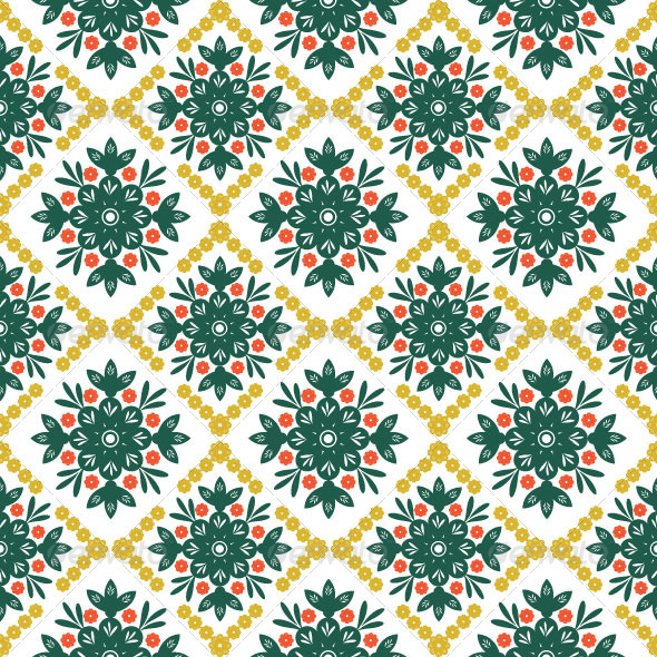 GraphicRiver Seamless Classic Pattern 08 4922759