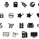 50 Web Icons Custom Shape Set - GraphicRiver Item for Sale
