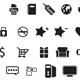 50 Web Icons Custom Shape Set - GraphicRiver Item for Sale