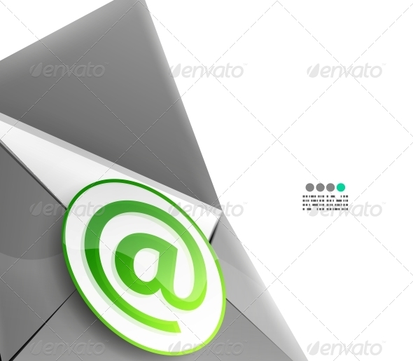 GraphicRiver Email Internet Vector Background 4924057