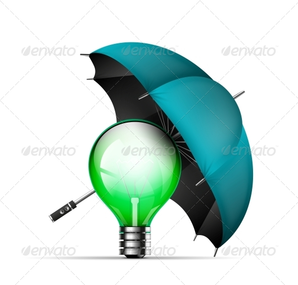 GraphicRiver Creative New Idea Protection Concept 4924154