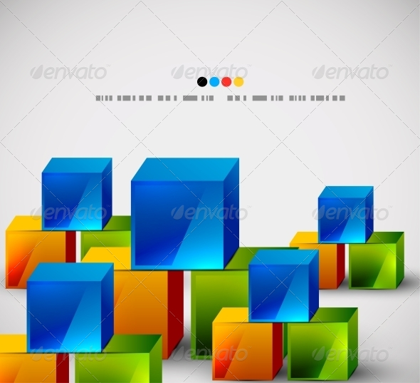 GraphicRiver Abstract Square Banners 4924209