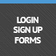登录和注册表格 - WorldWideScripts.net项目出售