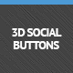3D اجتماعی دکمه های بسته - مورد WorldWideScripts.net برای فروش