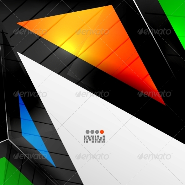 GraphicRiver Abstract 3D Geometrical Design 4924334