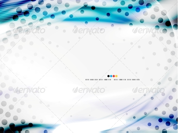 GraphicRiver Wave Abstract Design Template 4924441