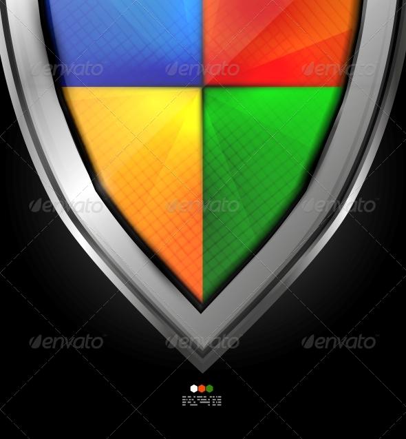 GraphicRiver Colorful Guard Concept Design 4924560