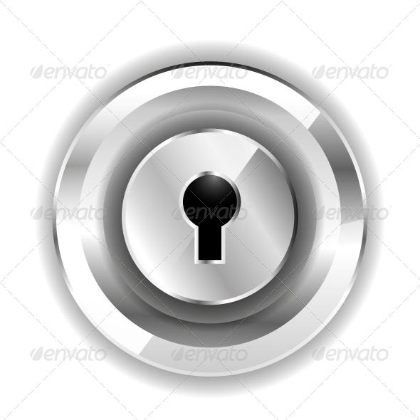 GraphicRiver Lock Icon 4924573