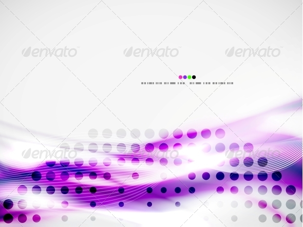GraphicRiver Wave Abstract Design Template 4924594