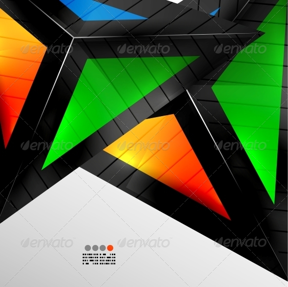 GraphicRiver Abstract 3D Geometrical Design 4924905