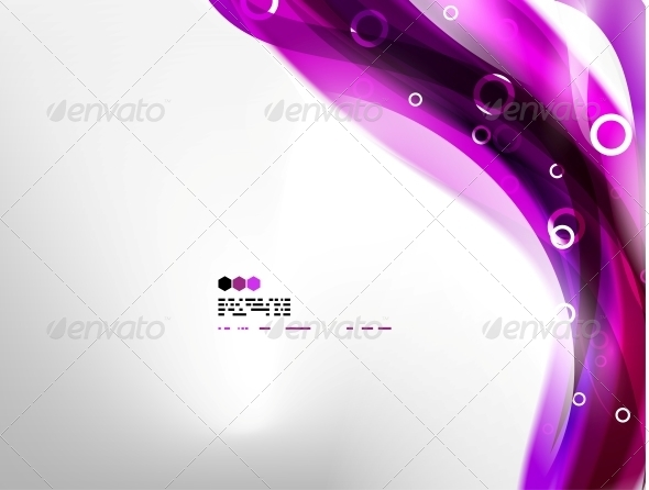 GraphicRiver Purple Abstract Background 4925442