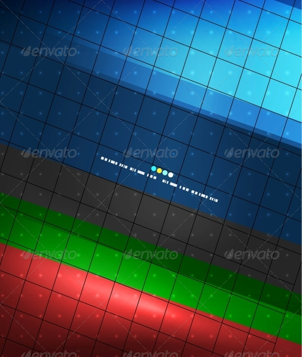 GraphicRiver Blue Geometry Lines Background 4925507
