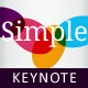 Simplex Keynote Template - GraphicRiver Item for Sale